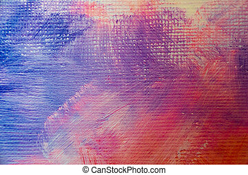 Abstract oil paint