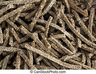 Bran - Macro photograph of chopsticks bran, close up