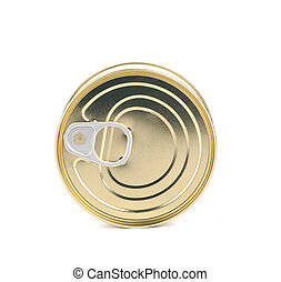 Closed can.