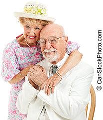 Southern Seniors - Portrait - Formal portrait of a...