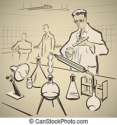 Chemists researching again