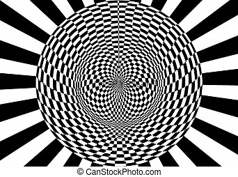 round - optical illusion
