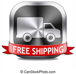 free shipping package delivery order web shop shipment for...