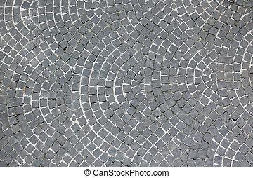 Stone floor background or texture