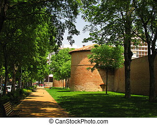Rampart Arsenal - Toulouse in south of France is the capital...