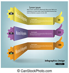 colorful infographics options banner Vector illustration for...