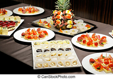 Food on the party