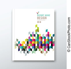 Cover report geometric design - Cover annual report and...