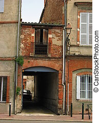 Old House - Toulouse in south of France is the capital of...
