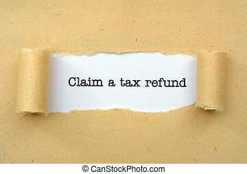 Claim tax refund