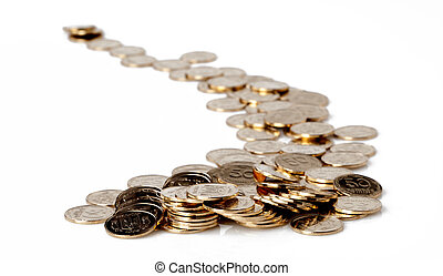 gold coins - Loose Change. Many gold coins.