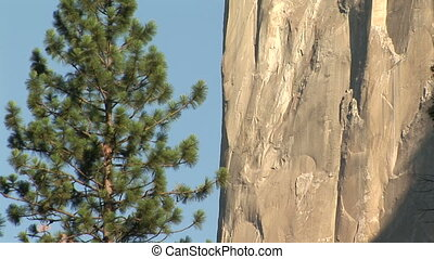 El Capitan, Yosemite National Park, California, zoom out