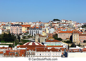 View over Lisbon, Portugal