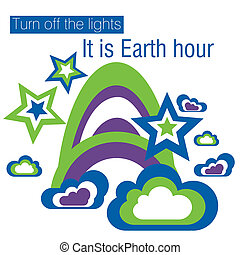 Earth Hour - Turn off the lights, it is Earth hour