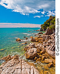 Rocky Coastline Totoranui - Rocky stretch of Coast in Abel...