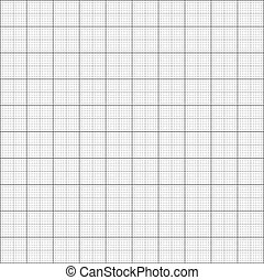 Gray grid paper - technical engineering line scale...