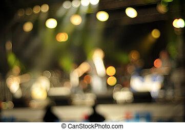 Background light illumination