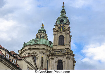 St Nicholas Church , Prague