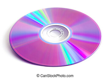 cd dvd - Cd dvd disk isolated photo on white background