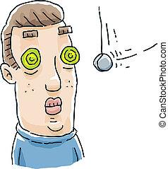 hipnoza, oczy