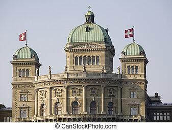 Bundeshaus, Federal Palace, Bern, Switzerland, Europe
