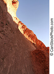 Rocks Purmamarca in the Province of Jujuy in Argentina,...