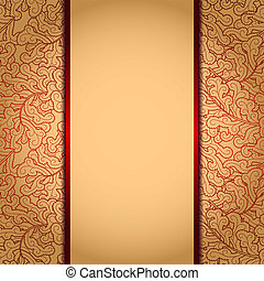 Elegant gold background? - Elegant gold background with lace...