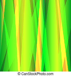 Abstract lines green background