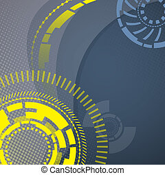 Abstract technology mechanical background