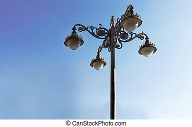 nice old style street lamp
