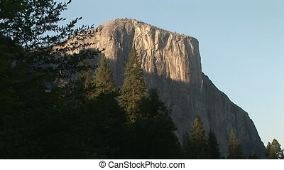 El Capitan, Yosemite National Park - View of El Capitan from...