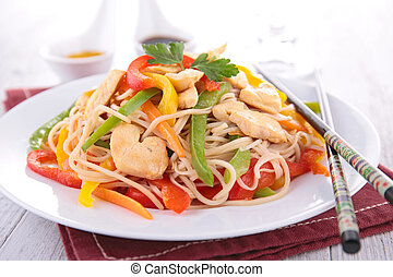 fried noodles chinese