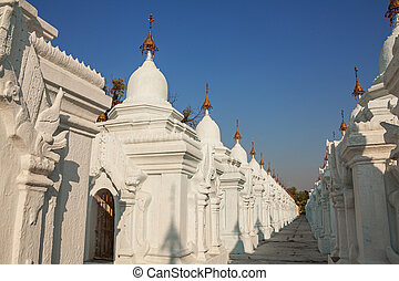 Kuthodaw Pagoda is the Worlds Biggest Book Stone Library...