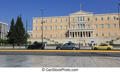 Parliament Building - Syntagma Square and Parliament...