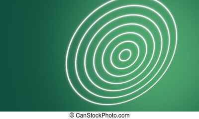 Spiral Waves Green - Stock Animated Background of Green...