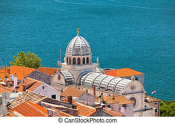 Cathedral of St James in Sibenik, Croatia UNESCO World...