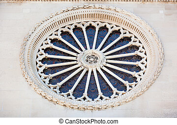 Cathedral of St. James in Sibenik, Croatia - Detail of...