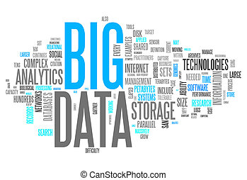 "palabra,  ""big, nube,  data"""