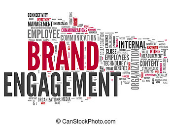 Word Cloud quot;Brand Engagementquot; - Word Cloud Brand...
