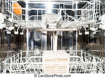 dishwasher - household dishwasher in a kitchen