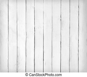 White wooden plank texture or background