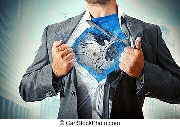 Super businessman mechanism