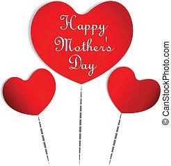 Hearts holiday logo