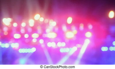 defocused festive color lights background