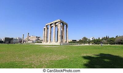 Temple of Zeus at Athens - Temple of Olympian Zeus at Athens...