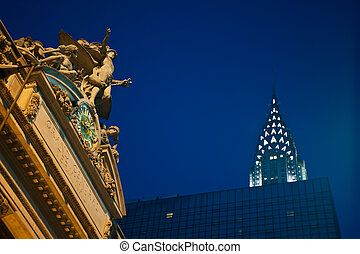 Grand Central Station, Chrysler Building