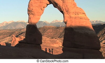 Delicate Arch, slow motion