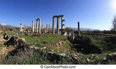 ancient city of Afrodisias 3 - Afrodisias Ancient City at...