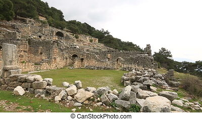 ancient city of Arycanda 1 - 5th or 6th century BC Ancient...