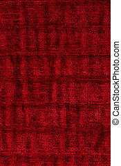 Red fabric - Closeup detail of red fabric texture background...